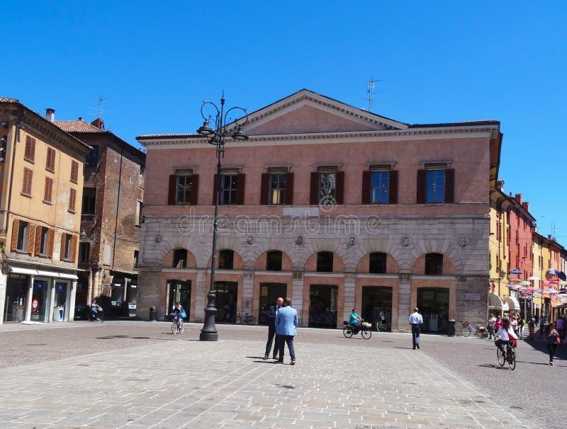 Ferrara, Italia foto de archivo