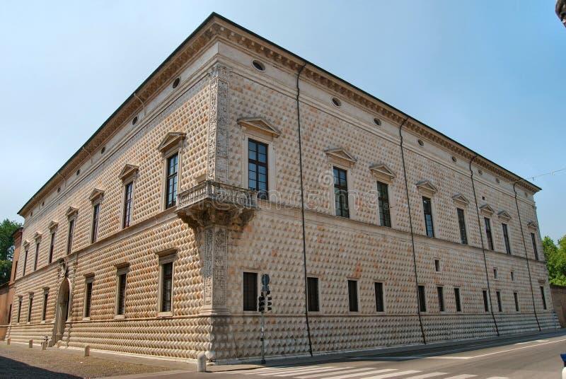 Ferrara Palace Stock Images