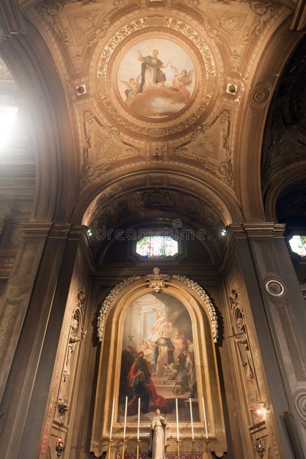 Ferrara (Włochy), katedra zdjęcia stock