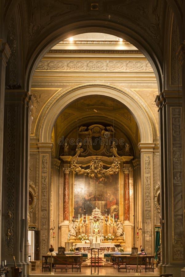 Ferrara (Włochy), katedra obraz royalty free