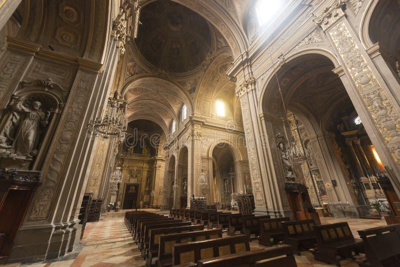Ferrara (Włochy), katedra fotografia royalty free