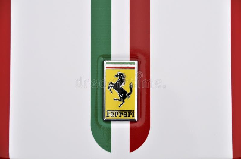 ferrari徽标 免版税库存图片