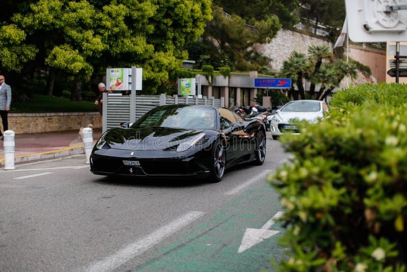 Ferrari 458 royalty-vrije stock foto's