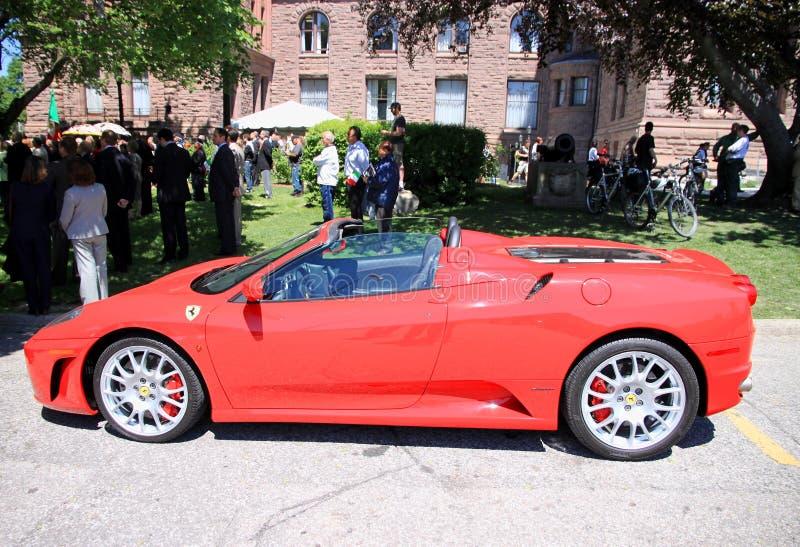 Ferrari royalty free stock photo