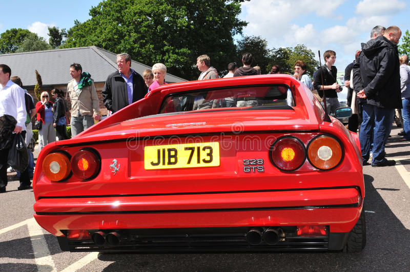Download Ferrari 328 GT editorial photography. Image of logo, detail - 19636822