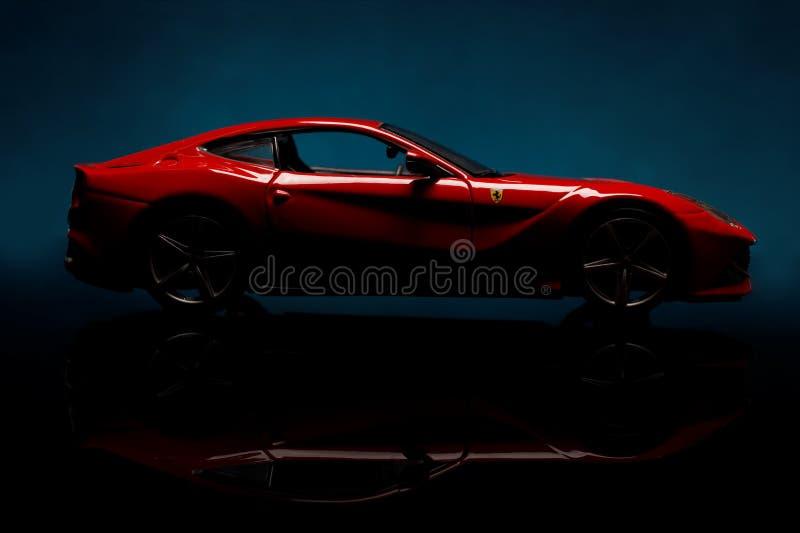 Ferrari royalty-vrije stock afbeeldingen