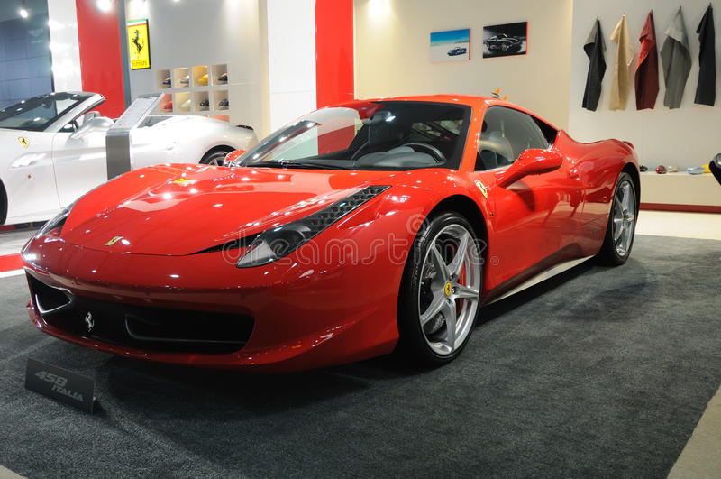 Ferrari 458 Italië stock fotografie