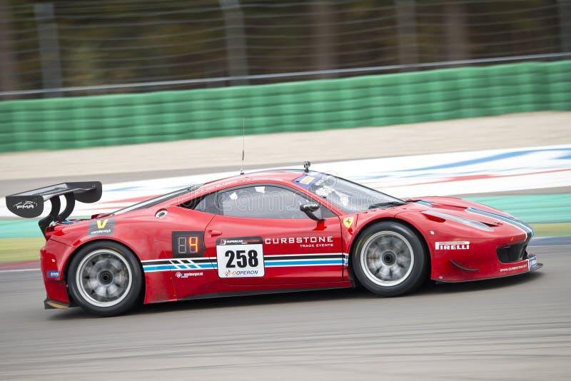 Ferrari foto de archivo libre de regalías