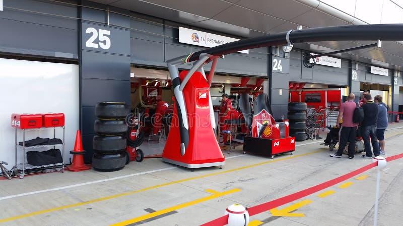 Ferrari photographie stock