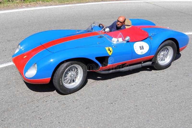Download Ferrari 500 TRC 1957 -Vernasca Silver Flag 2011 Editorial Stock Photo - Image: 20340668