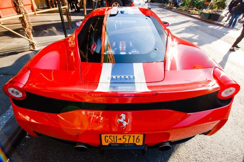 Ferrari stock foto's