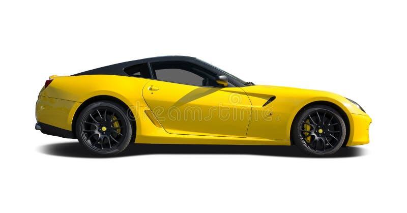 Ferrari 599 royalty-vrije stock afbeelding