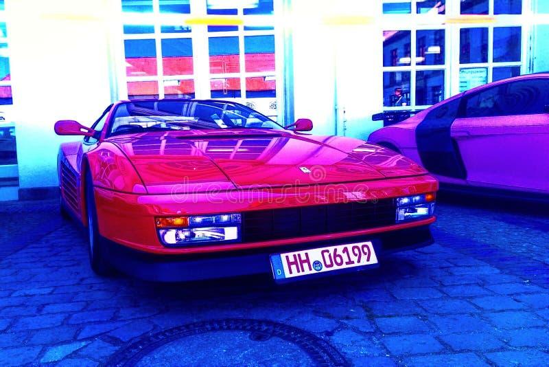 Ferrari fotografía de archivo