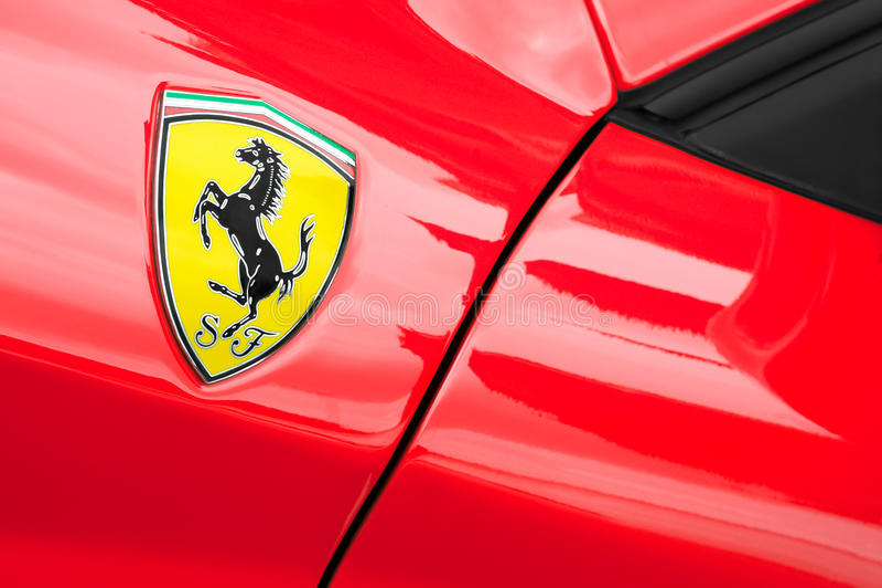Ferrari imagem de stock