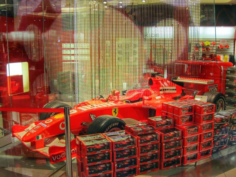 Ferrari bilshow i London, England royaltyfria foton