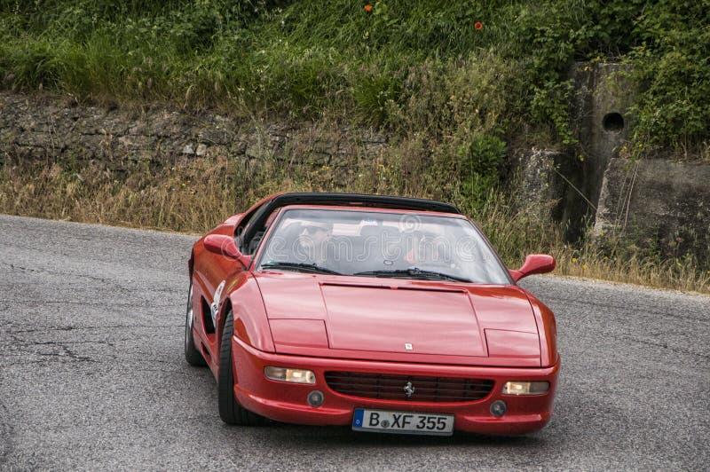 Ferrari 348 cabrio royalty-vrije stock fotografie