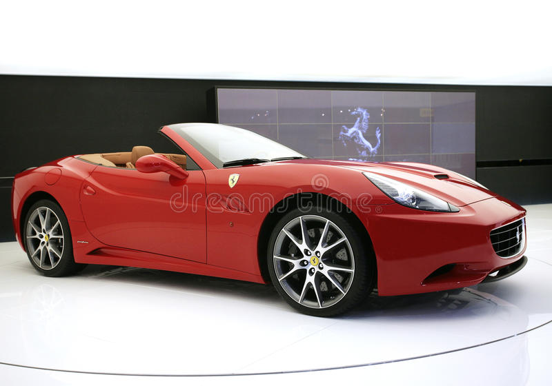 Ferrari california royalty free stock images