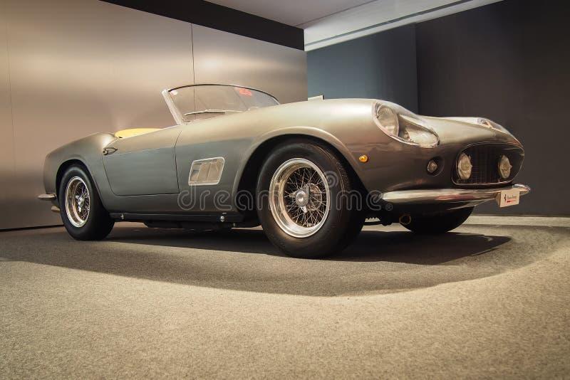 1957 Ferrari 250 California. MARANELLO, ITALY-JULY 21, 2017: 1957 Ferrari 250 California in the Ferrari Museum stock photos