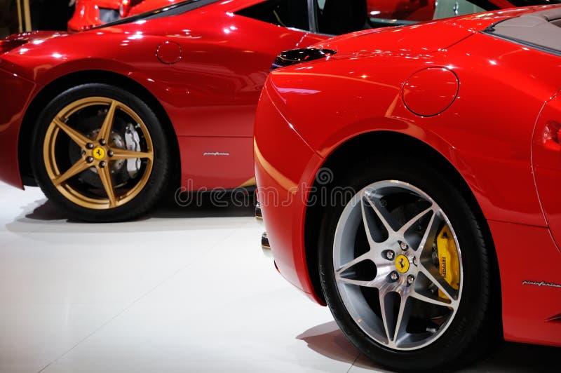 Ferrari On CDMS 2012 Editorial Stock Photo