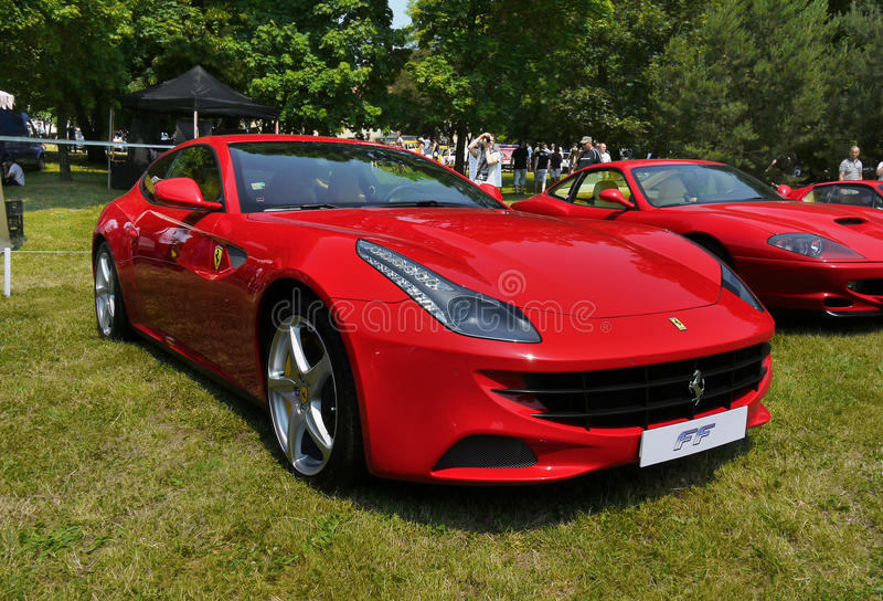 Ferrari, coches de deportes foto de archivo libre de regalías