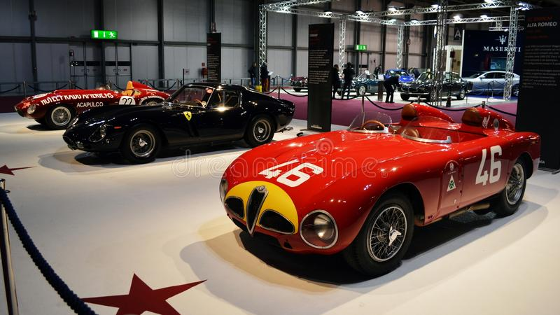Ferrari collection royalty free stock photos