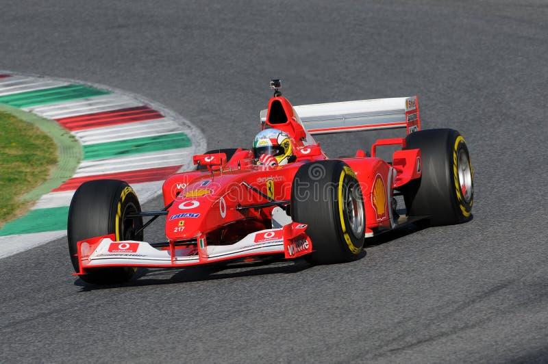 Ferrari dag Mugello 2015 arkivfoto