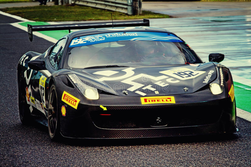 Ferrari Days. Ferrari Championship corse cliente racing days in istanbul park - Turkey royalty free stock image