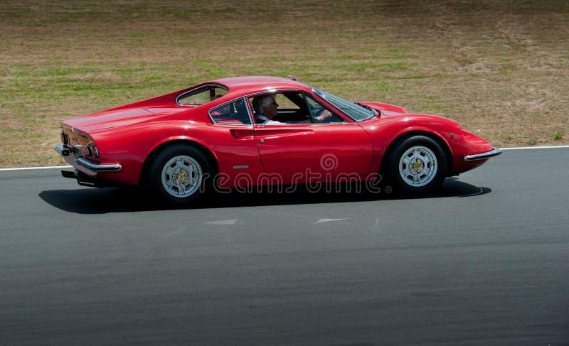 Ferrari Dino 1969 lizenzfreie stockfotografie