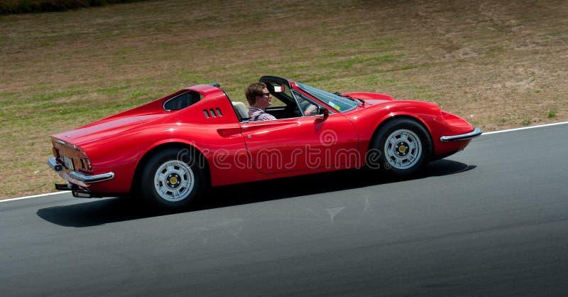 Ferrari Dino 1967 lizenzfreies stockbild