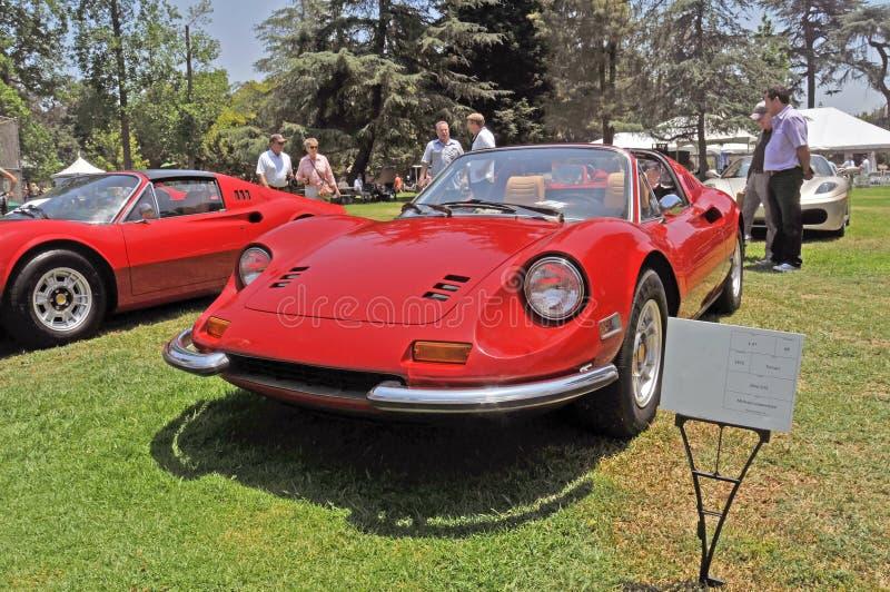 Ferrari Dino GTS photo libre de droits