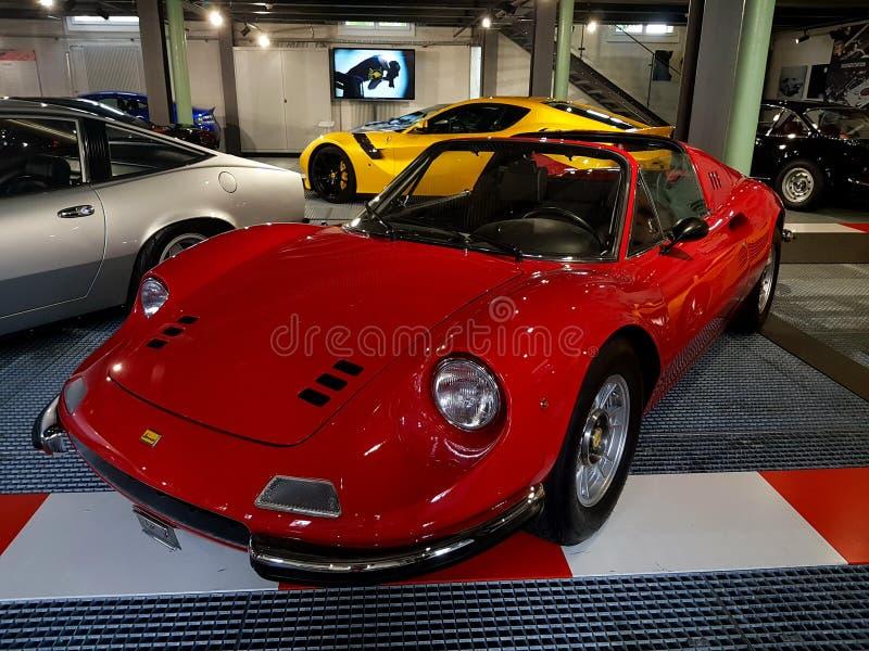Ferrari 1972 Dino 206 GTS photos stock