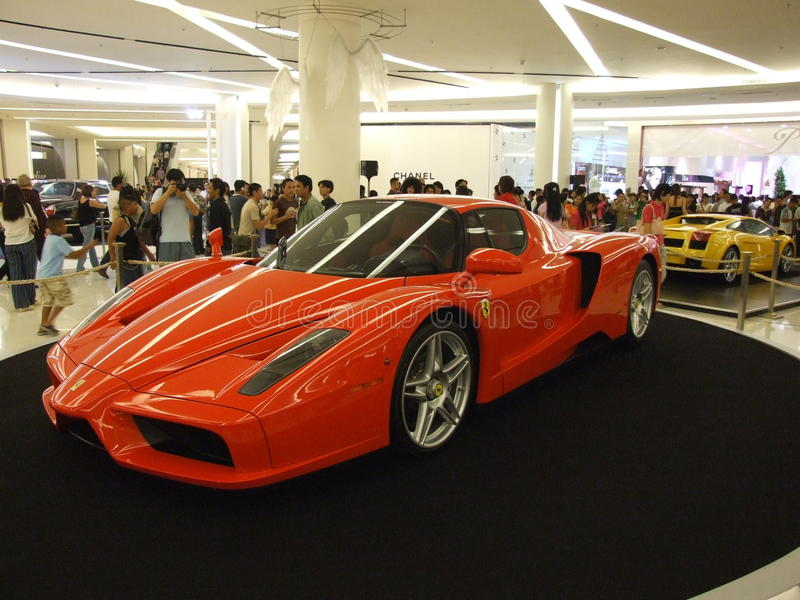 Download Ferrari On Display, Bangkok, Thailand. Editorial Stock Image - Image: 14258999