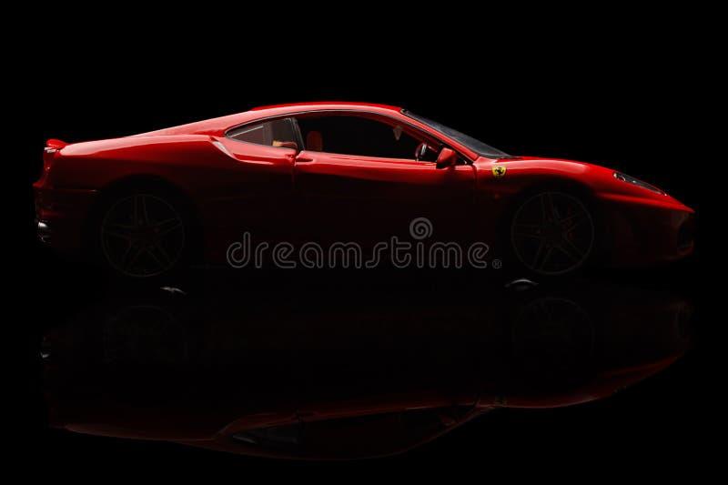 Ferrari F430 royalty-vrije stock afbeelding