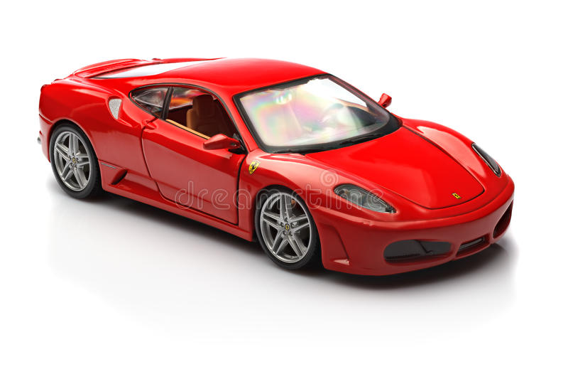 Ferrari F430 royaltyfri fotografi