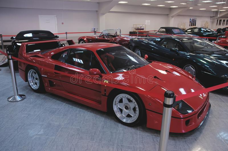 Download Ferrari F40 photo éditorial. Image du nuits, fuselage - 56475376