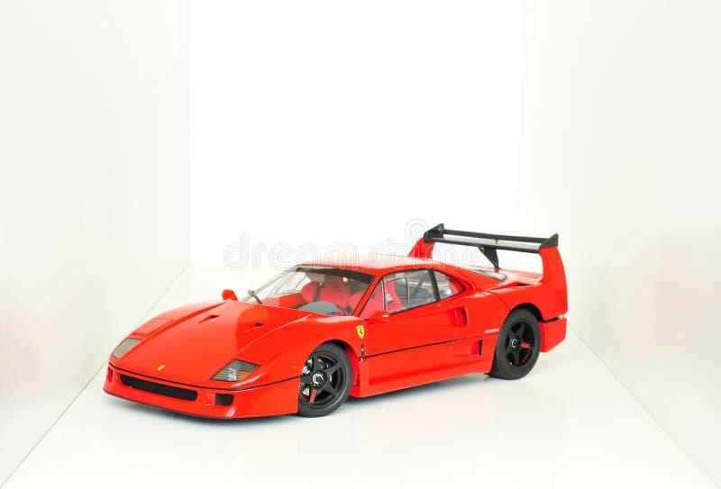 Ferrari F40 Le Mans lizenzfreie stockbilder