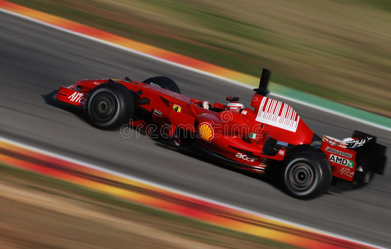 Ferrari F1 Schumacher photo stock