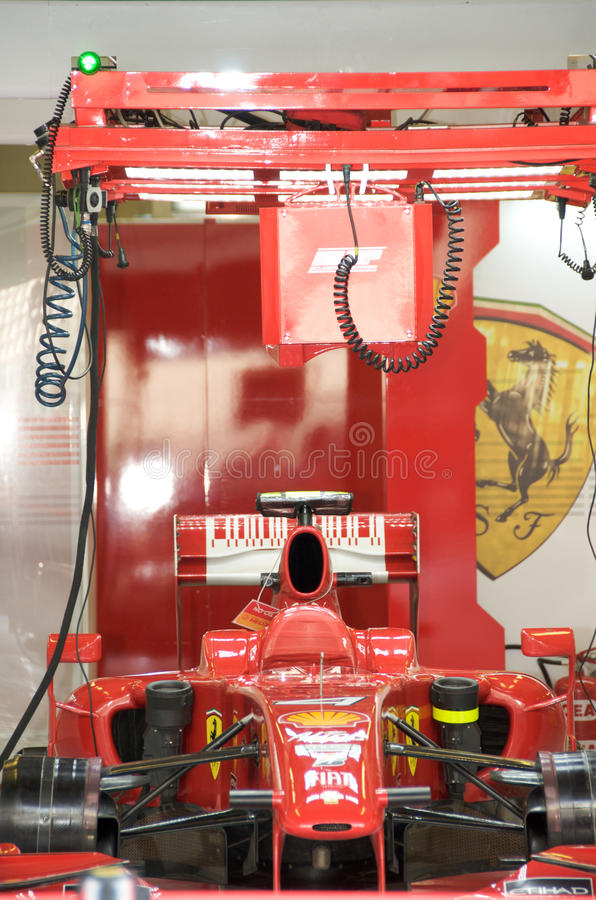 Download Ferrari F1 editorial image. Image of dhabi, marina, ferrari - 11707815