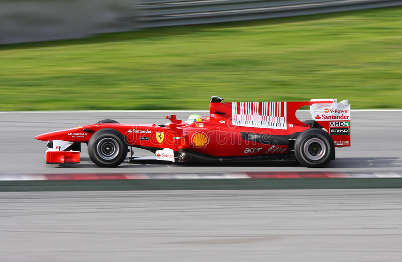 Ferrari F1 photographie stock