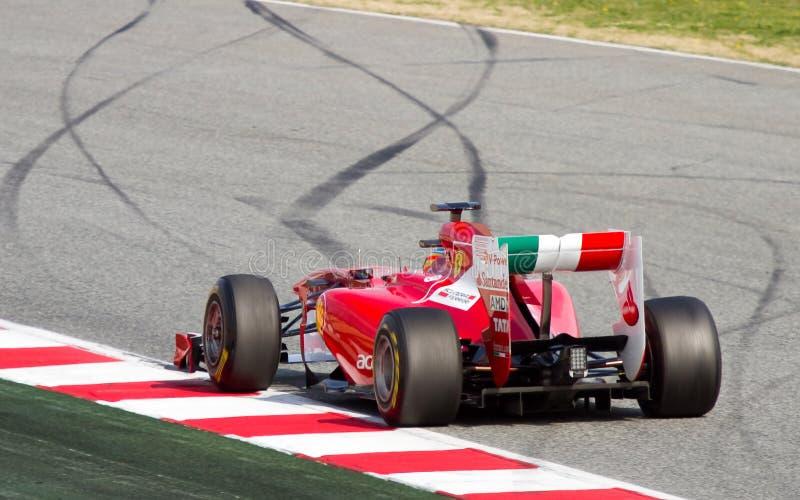 Ferrari F1 photo libre de droits
