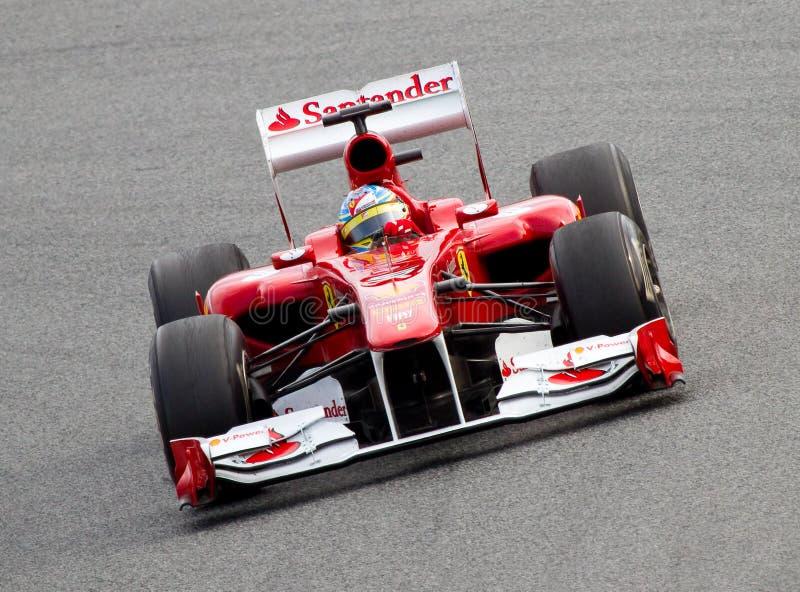 Download Ferrari F1 editorial photography. Image of italian, barcelona - 22055637