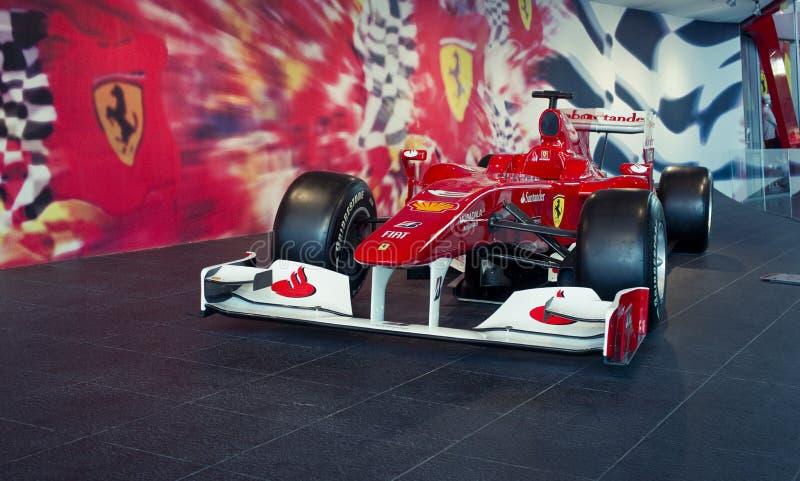 Ferrari F1 arkivfoto