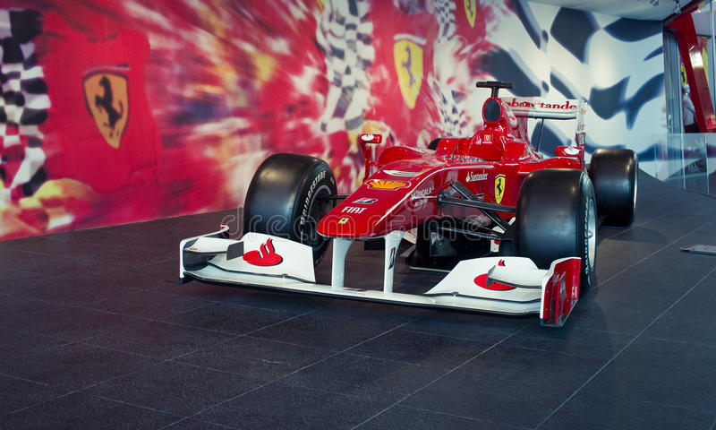 Ferrari F1 photo stock