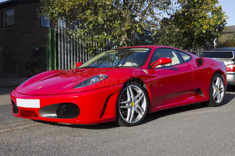 Ferrari F430 Supercar Editorial Photo