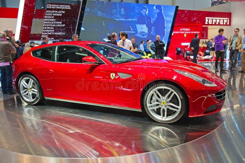 Ferrari FF royaltyfria foton