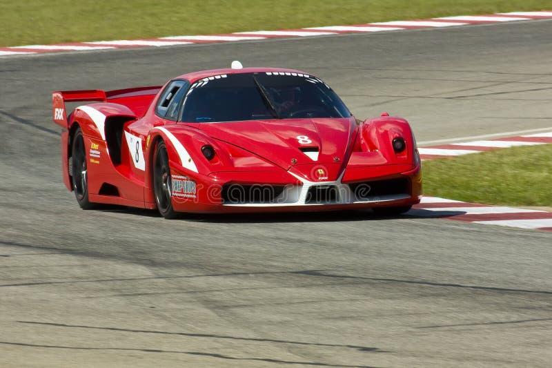 Ferrari FXX royalty-vrije stock afbeeldingen