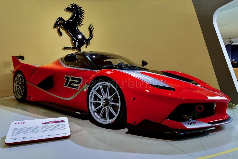 Ferrari FXX K stock afbeelding