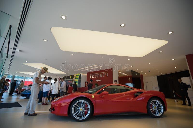 Ferrari Gold Coast Southport Australia dzień otwarcia obrazy royalty free