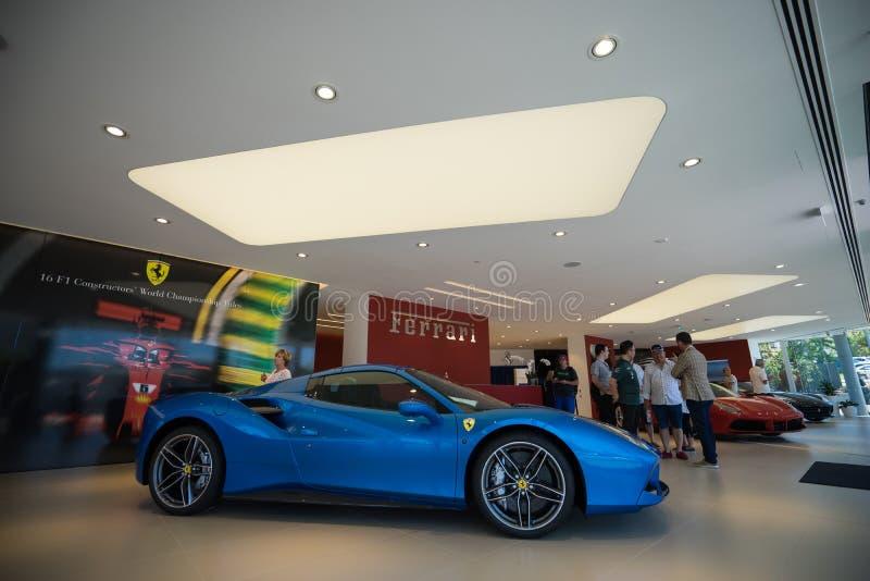 Ferrari Gold Coast Southport Australia dzień otwarcia obrazy stock