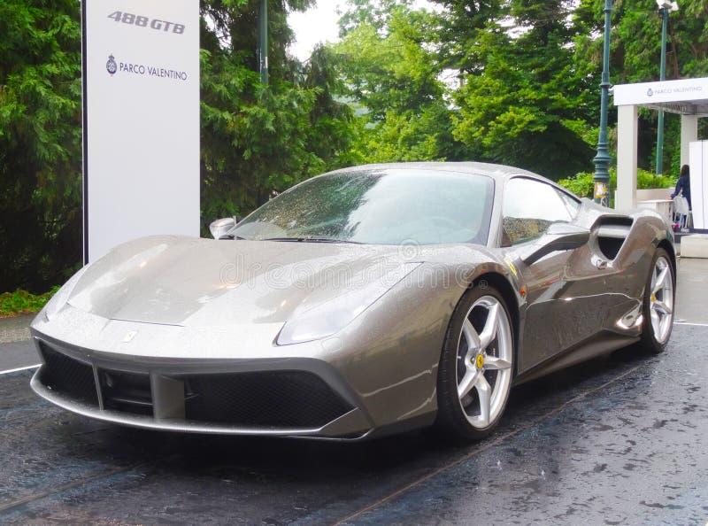 Ferrari 488 GTB stock foto